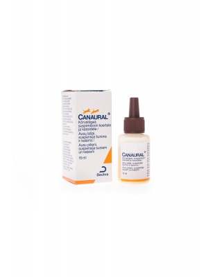 CANAURAL EAR DROPS 15 ml