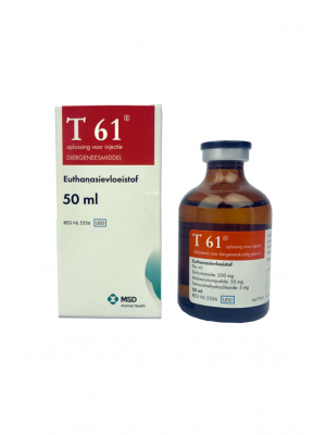 T 61 inj. 50ml, (MSD)